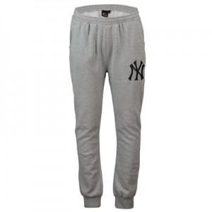 New York Yankees Slim Jogger - Grey - Mens