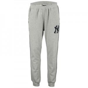 New York Yankees Fleece Joggers - Grey  Mens