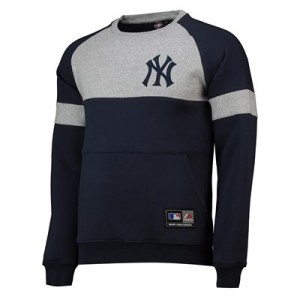New York Yankees Logo Sweat - Navy - Mens