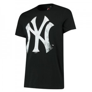 New York Yankees Gamily T-Shirt - Navy - Mens