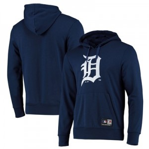 Detroit Tigers Prism Hoody - Navy - Mens