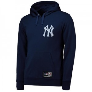 New York Yankees Rishop Hoody - Navy - Mens