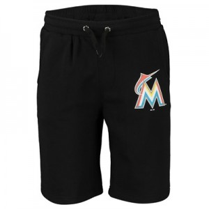 Miami Marlins Arden Shorts - Black - Mens