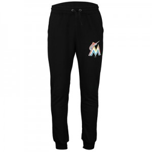 Miami Marlins Joggers - Navy - Mens