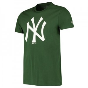 New York Yankees New Era Seasonal Team Logo T-Shirt - Green - Mens