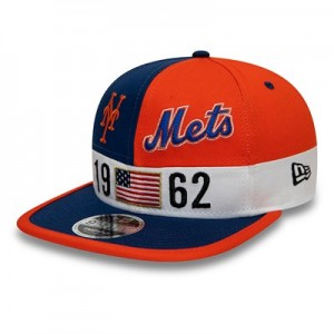 New York Mets New Era Colour Block League 9FIFTY Snapback Cap