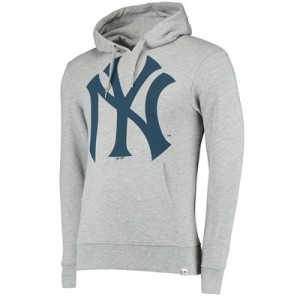 New York Yankees Prism Hoody - Grey - Mens