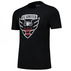 DC United Core T Shirt - Black - Mens