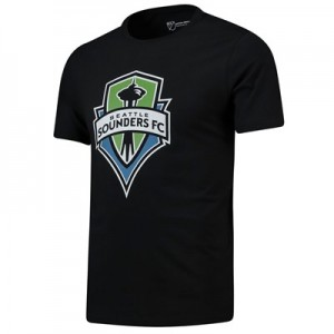 Seattle Sounders Core T Shirt - Black - Mens