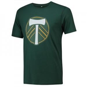 Portland Timbers Core T Shirt - Dark Green - Mens