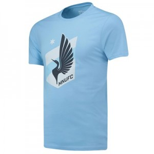 Minnesota United Core T Shirt - Sky - Mens