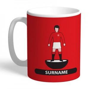 Manchester United Personalised Player Figure Mug