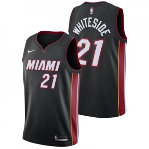Miami Heat Nike Icon Swingman Jersey - Hassan Whiteside - Mens