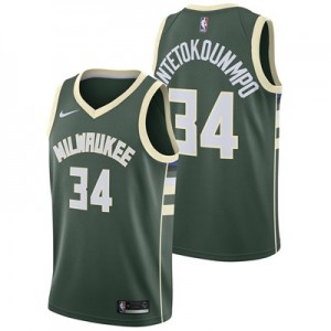 Milwaukee Bucks Nike Icon Swingman Jersey - Giannis Antetokounmpo - Mens - 2018