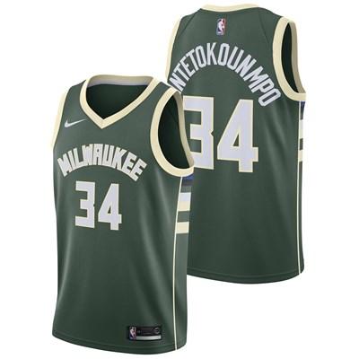 Milwaukee Bucks Nike Icon Swingman Jersey - Giannis Antetokounmpo - Mens - 2018