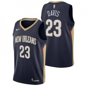 New Orleans Pelicans Nike Icon Swingman Jersey - Anthony Davis - Mens