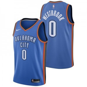 Oklahoma City Thunder Nike Icon Swingman Jersey - Russell Westbrook - Mens