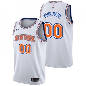 Nike New York Knicks Nike Statement Swingman Jersey - Custom - Mens New York Knicks Nike Statement Swingman Jersey - Custom - Mens