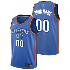 Nike Oklahoma City Thunder Nike Icon Swingman Jersey - Custom - Mens Oklahoma City Thunder Nike Icon Swingman Jersey - Custom - Mens