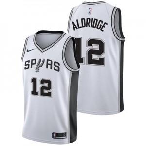 Nike San Antonio Spurs Nike Association Swingman Jersey - LeMarcus Aldridge - Mens San Antonio Spurs Nike Association Swingman Jersey - LeMarcus Aldridge - Mens