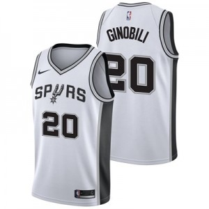 Nike San Antonio Spurs Nike Association Swingman Jersey - Manu Ginobli - Mens San Antonio Spurs Nike Association Swingman Jersey - Manu Ginobli - Mens