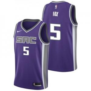 Nike Sacramento Kings Nike Icon Swingman Jersey - DeAaron Fox - Mens Sacramento Kings Nike Icon Swingman Jersey - DeAaron Fox - Mens