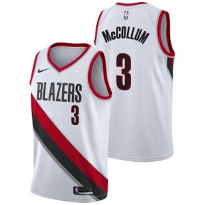 Nike Portland Trail Blazers Nike Association Swingman Jersey - CJ McCollum - Mens Portland Trail Blazers Nike Association Swingman Jersey - CJ McCollum - Mens