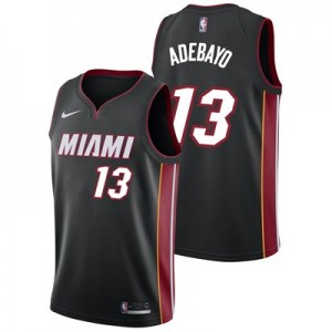 Nike Miami Heat Nike Icon Swingman Jersey - Bam Adebayo - Mens Miami Heat Nike Icon Swingman Jersey - Bam Adebayo - Mens