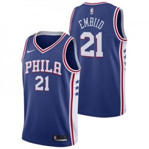 Nike Philadelphia 76ers Nike Icon Swingman Jersey - Joel Embiid - Mens Philadelphia 76ers Nike Icon Swingman Jersey - Joel Embiid - Mens