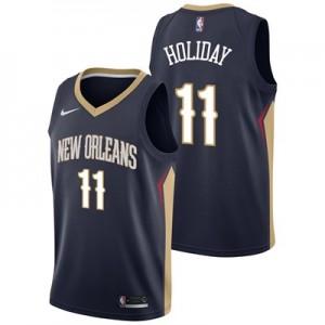 Nike New Orleans Pelicans Nike Icon Swingman Jersey - Jrue Holiday - Mens New Orleans Pelicans Nike Icon Swingman Jersey - Jrue Holiday - Mens