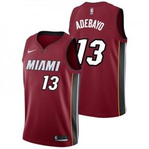 Nike Miami Heat Nike Statement Swingman Jersey - Bam Adebayo - Mens Miami Heat Nike Statement Swingman Jersey - Bam Adebayo - Mens