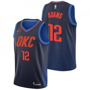 Nike Oklahoma City Thunder Nike Statement Swingman Jersey - Steven Adams - Mens Oklahoma City Thunder Nike Statement Swingman Jersey - Steven Adams - Mens