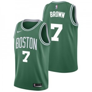 Nike Boston Celtics Nike Icon Swingman Jersey - Jaylen Brown - Mens Boston Celtics Nike Icon Swingman Jersey - Jaylen Brown - Mens