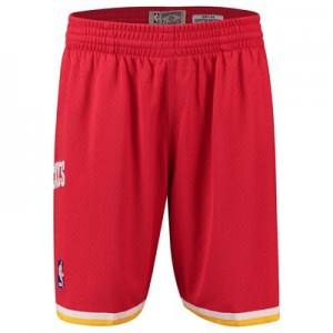Houston Rockets Hardwood Classics 1993-94 Road Swingman Short - Mens