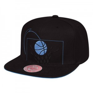 Cleveland Cavaliers Hardwood Classics Cropped XL Snapback Cap By Mitchell & Ness
