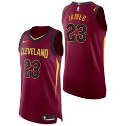 Cleveland Cavaliers Nike Icon Authentic Jersey - Lebron James - Mens