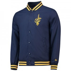 Cleveland Cavaliers New Era Team Logo Varsity Jacket - Mens