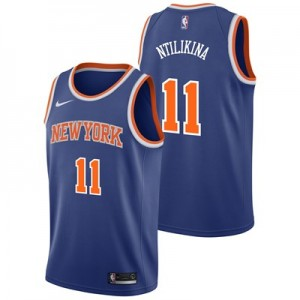Nike New York Knicks Nike Icon Swingman Jersey - Frank Ntilikina - Mens New York Knicks Nike Icon Swingman Jersey - Frank Ntilikina - Mens