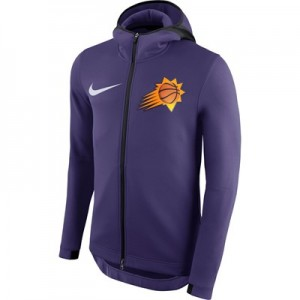 Phoenix Suns Nike Therma Flex Showtime Jacket - New Orchid - Mens
