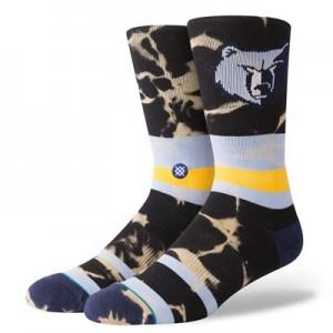 Memphis Grizzlies Stance Acid Wash Sock - Mens