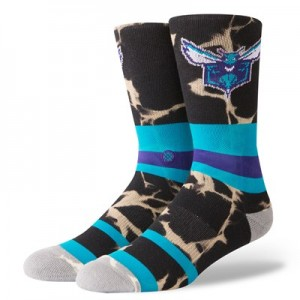 Charlotte Hornets Stance Acid Wash Sock - Mens