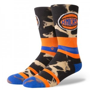 New York Knicks Stance Acid Wash Sock - Mens
