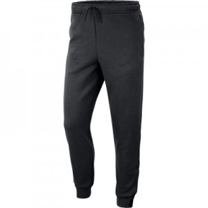 Chicago Bulls Nike Courtside Pant - Black - Mens