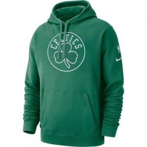 Boston Celtics Nike Courtside Hoodie - Clover - Mens