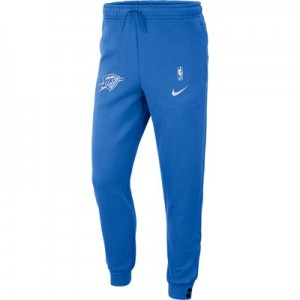 Oklahoma City Thunder Nike Courtside Pant - Signal Blue - Mens
