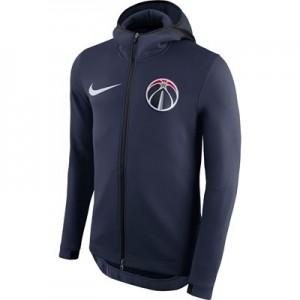 Washington Wizards Nike Therma Flex Showtime Jacket - College Navy - Mens