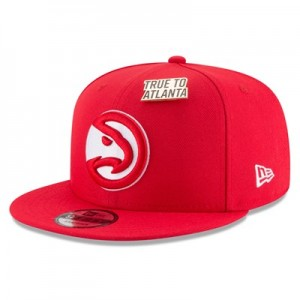 Atlanta Hawks New Era Official Draft 9FIFTY Snapback Cap - Mens