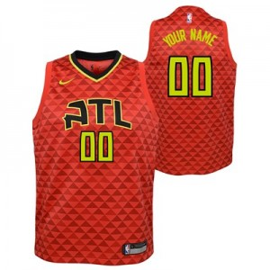 Atlanta Hawks Nike Statement Swingman Jersey - Custom - Youth - 2018
