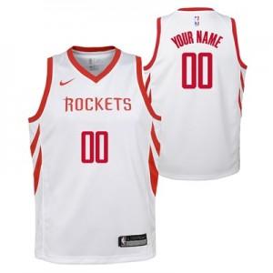 Houston Rockets Nike Association Swingman Jersey - Custom - Youth - 2018