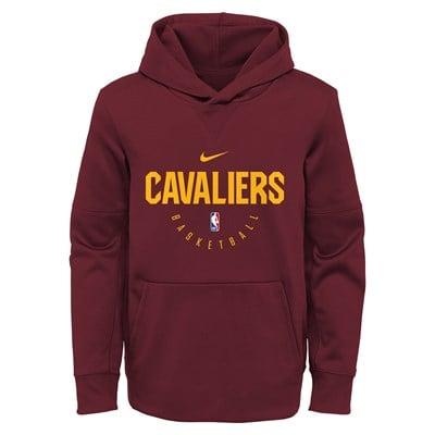 Cleveland Cavaliers Nike Elite Practise Spotlight Fleece Hoodie - Youth